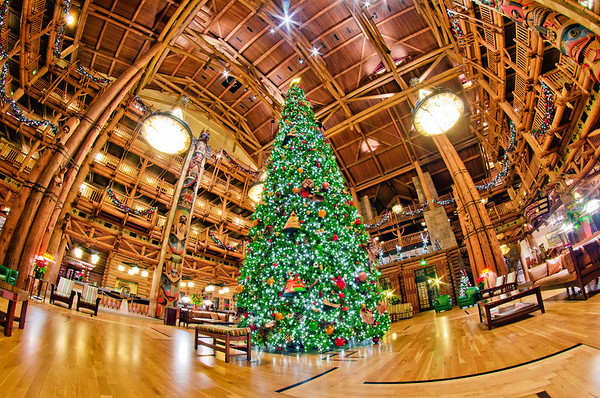 Disney's Wilderness Lodge = Best Resort for a Christmas trip! Wilderness Lodge Review: https://www.disneytouristblog.com/disneys-wilderness-lodge-review/