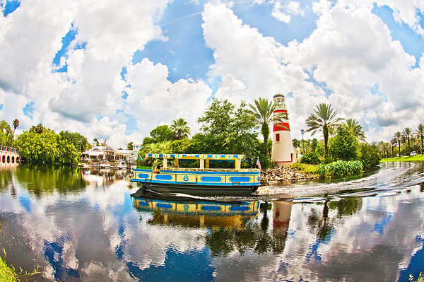 A fisheye view of Disney's Old Key West Resort. The original Disney Vacation Club Resort! Visit my blog for info, photos, and reviews of Disney hotels: https://www.disneytouristblog.com/disney-resorts/