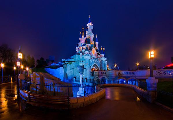 Le Chateau de la Belle au Bois Dormant at Disneyland Paris. Hundreds of Disneyland Paris photos in our trip report! https://www.disneytouristblog.com/disneyland-paris-2012-trip-report/
