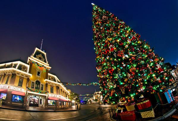 Photos Disneyland S Christmas Tree Disney Tourist Blog