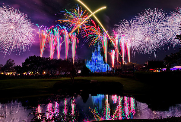 The finale of Holiday Wishes, the fireworks show during Mickey's Very Merry Christmas Party, features perimeter bursts that all around Cinderella Castle!More on Mickey's Very Merry Christmas Party: www.disneytouristblog.com/mickeys-very-merry-christmas-party-review-tips/