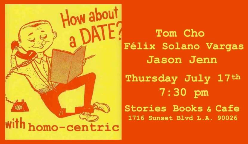 homo-centric reading flyer