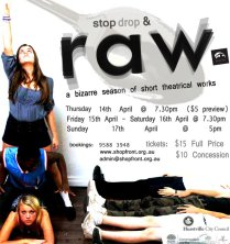 Raw Postcard, 2011, Created in cosoltation with the RAW Ensemble.