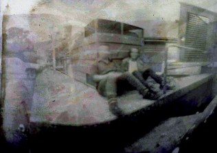 Car Park 2013 Pinhole Photograph