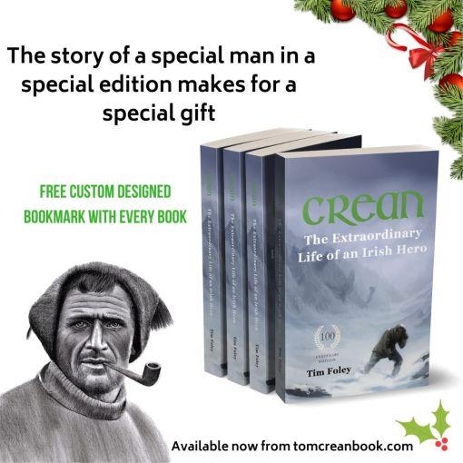 Tom Crean Biography makes a perfect Christmas gift