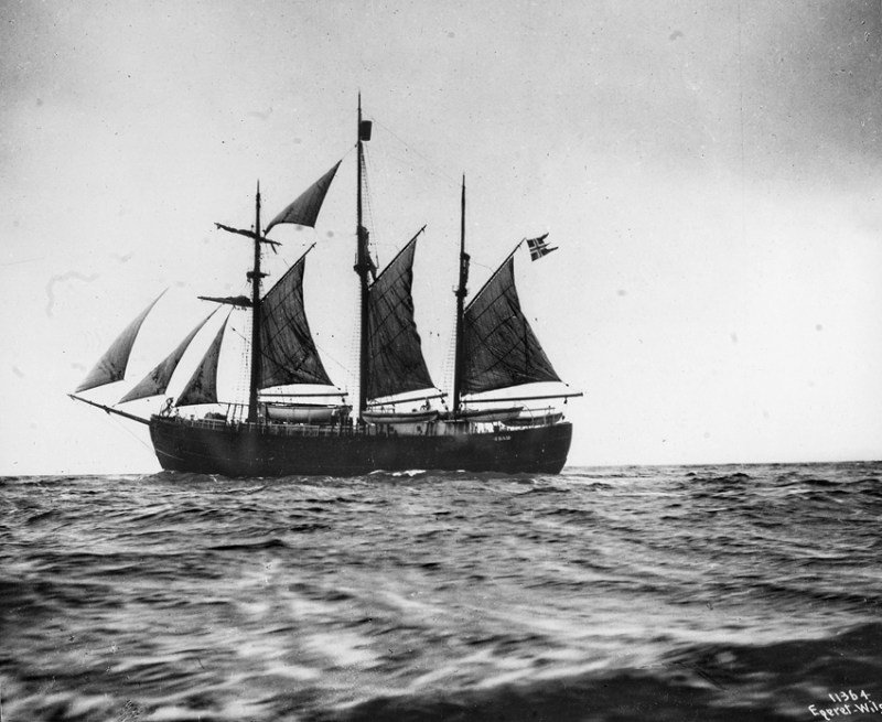The Fram - Amundsen's Ship
