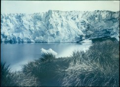 Glacier, New Fortuna Bay, 1915 / photographed by Frank Hurley