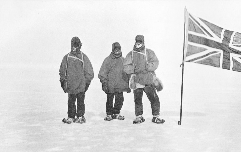 Shackleton and Wild - Farthest South - Nimrod Expedition