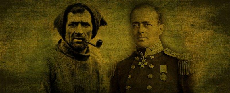 Tom Crean and Captain Scott
