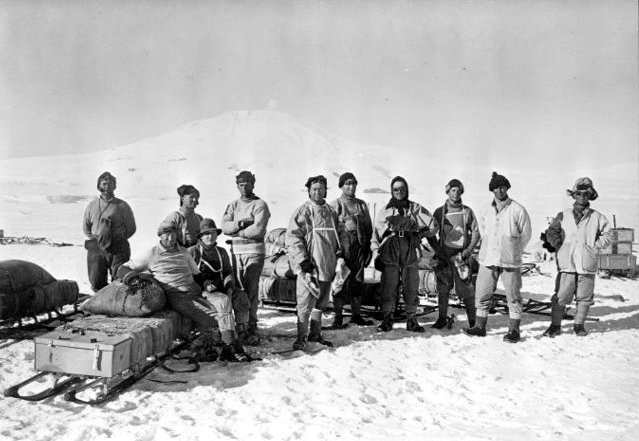 Depot Laying Party 1911 Terra Nova Expedition