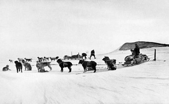 Relief Party - Terra Nova Expedition