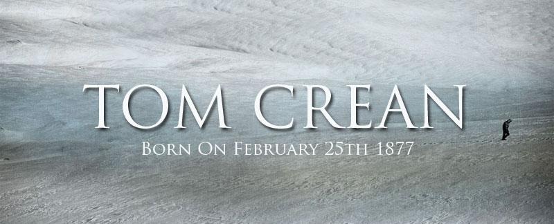 Tom Crean's date of Birth