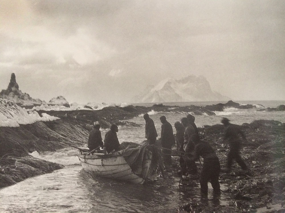 The Dudley Docker Arrives on Elephant Island.