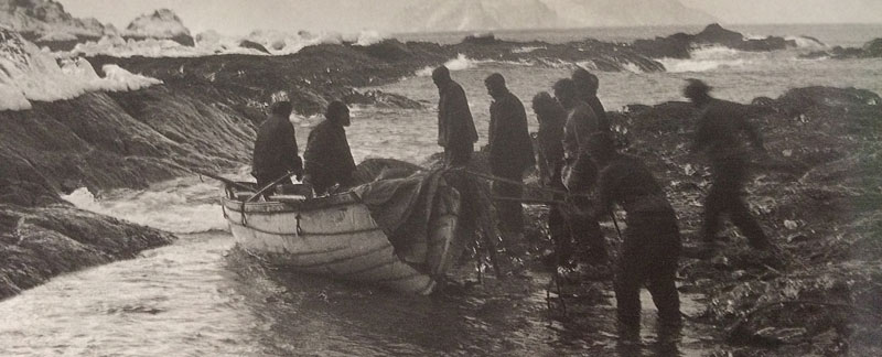 Shackleton's Lifeboats arrive at Elephant Island
