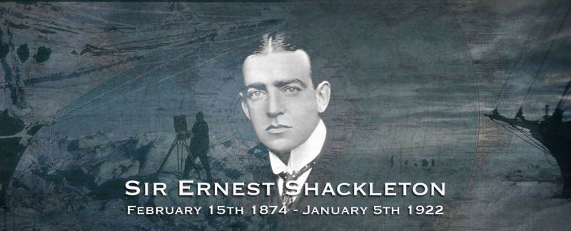 The Death Of Sir Ernest Shackleton.