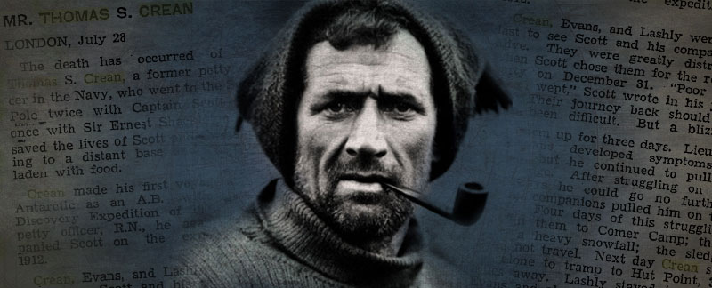 Tom Crean's - The Imperial Trans-Antarctic Expedition