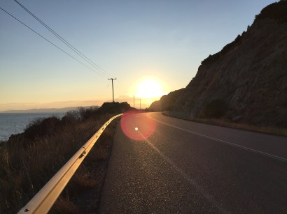 Final sunset in Greece