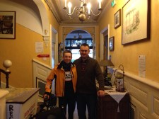 Salon-de-Provence. With Donald at the Hotel Select - Fantastic hospitality, if you're reading this, thank you!