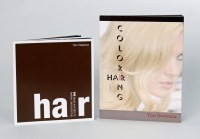 Hair Coloring Books Written by Tom Dispenza of Chromastics
