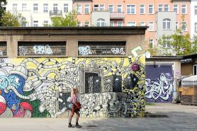 graffiti look the beauty