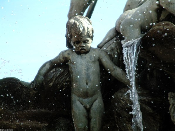 Figuren des Neptunbrunnen - Berlin Mitte