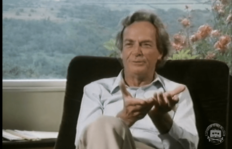 Richard Feynman, The Pleasure of Finding Things Out
