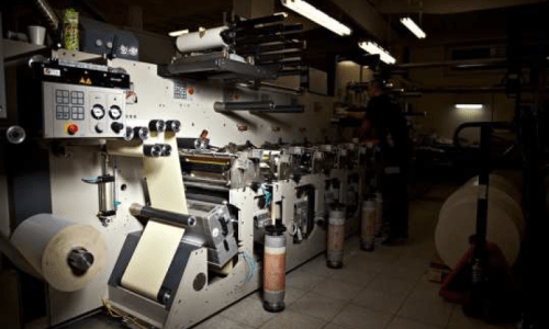 Maszyna drukarska flekso Gidue 370