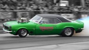 Wes Newmans 1968 Camaro Burnout Fail