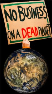 No Business On Dead Planet
