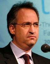רולניק- ירוץ איתו?  ועידת הנשיא, 21.10.2009 (צילום: מרים אלסטר)