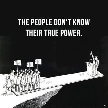 אנשים גשר כוח דמוקרטיה לא יודעים את הכוח שלהם
