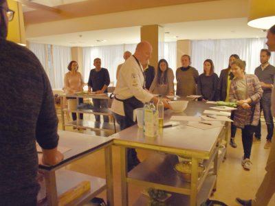 Formación, curso de cocina