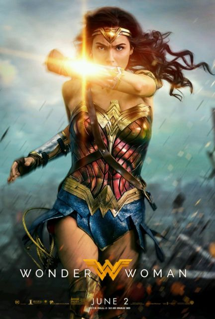 Womder Woman, as played by Gal Gadot