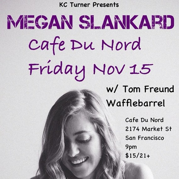 Friday in San Francisco!  Don't miss it!