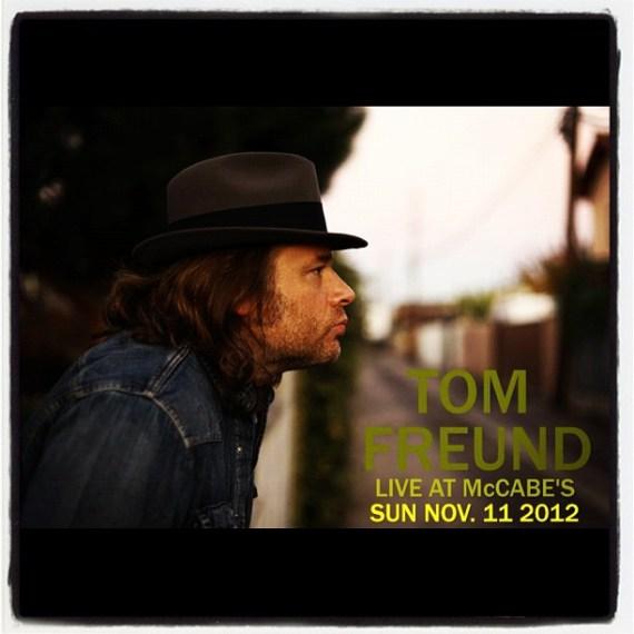 Sunday 11/11 #tomfreund