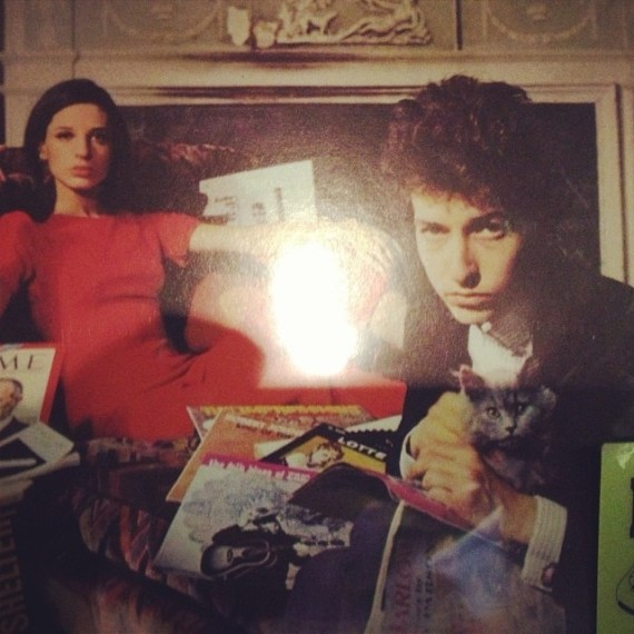 I'm just sayin' have you had enough #bobdylan in your diet - today??! #epicalbum