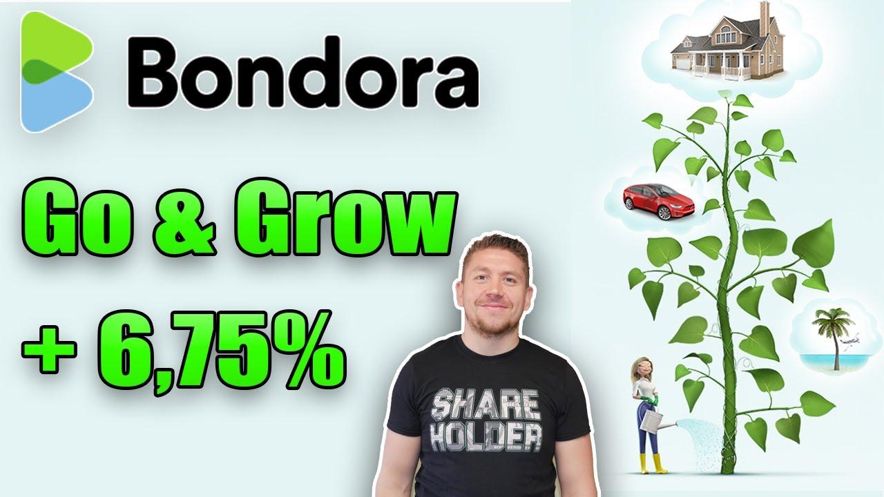 Bondora Go & Grow Auswertung 6,75% Rendite inkl. Schritt für Schritt Anleitung