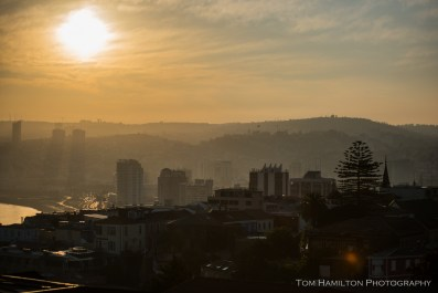 Sunrise in Valparaiso