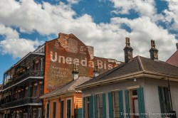 Old buildings in the French Quarter
