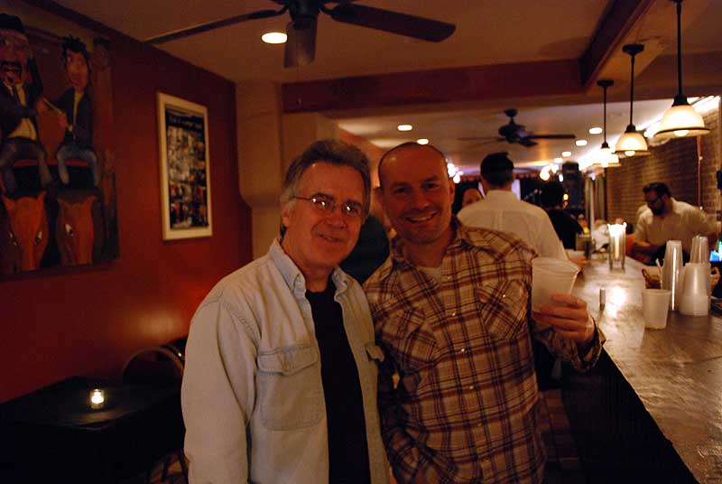 tommy geddes and jim miades at the blinkin lincoln