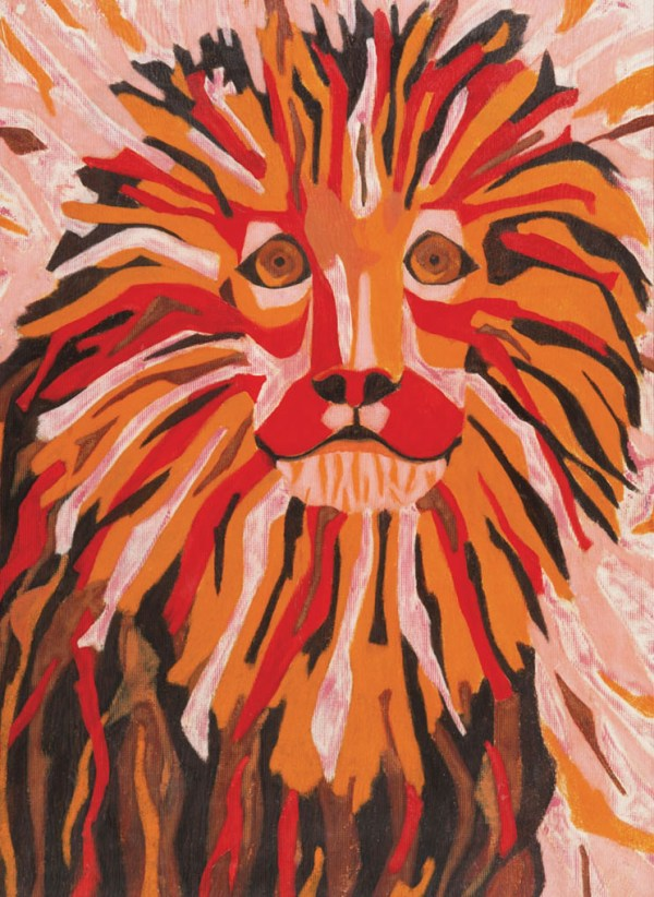 The Lion Painting Original