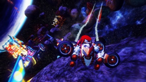 Sonic all stars racing espace