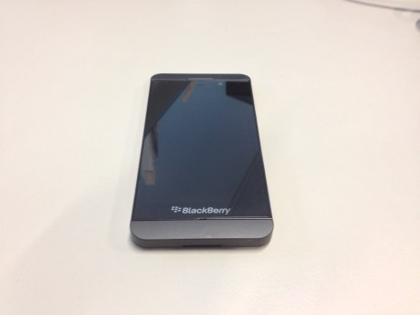 Blackberry Z10 face