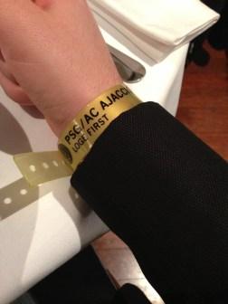 Bracelet loge First Parc des princes