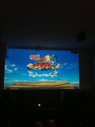 Start ecran Naruto Storm 3 event