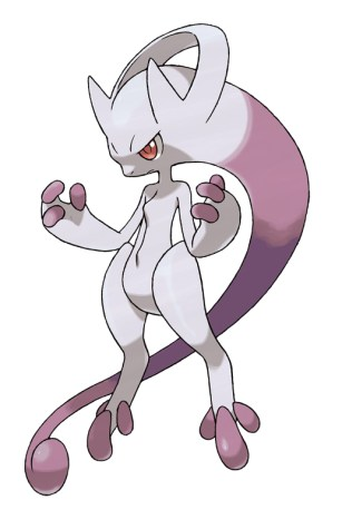 Artwork Mew Pokemon x et y