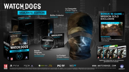 Edition Vigilante Watch Dogs