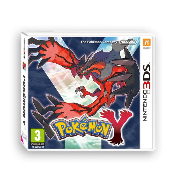 packshot pokemon Y