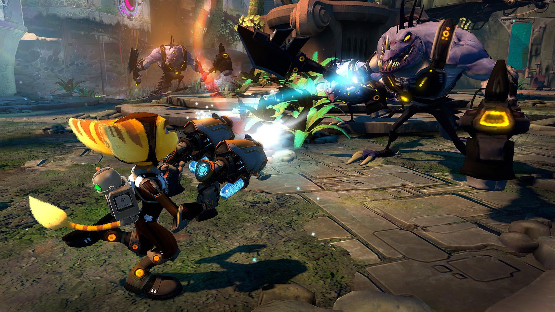 Ratchet & Clank PS3 omniblast