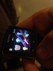 Prise en main Sony Smartwatch 2